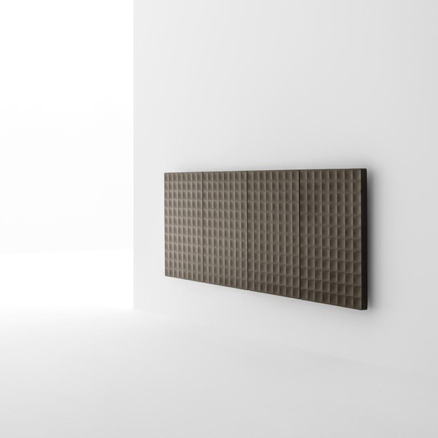 WAFFLE Heizkörper horizontal, 164 cm breit, 4 Elemente