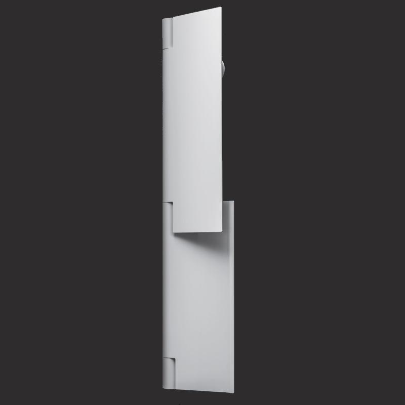 Antrax Design-Heizkörper BYOBU, geteilt, klappbar, Warmwasser oder Elektrisch