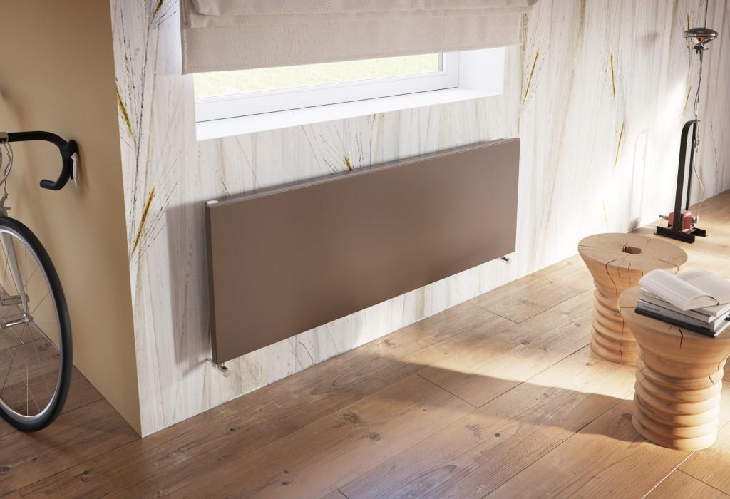 Antrax Design-Heizkörper TI_Q horizontal ohne Blende