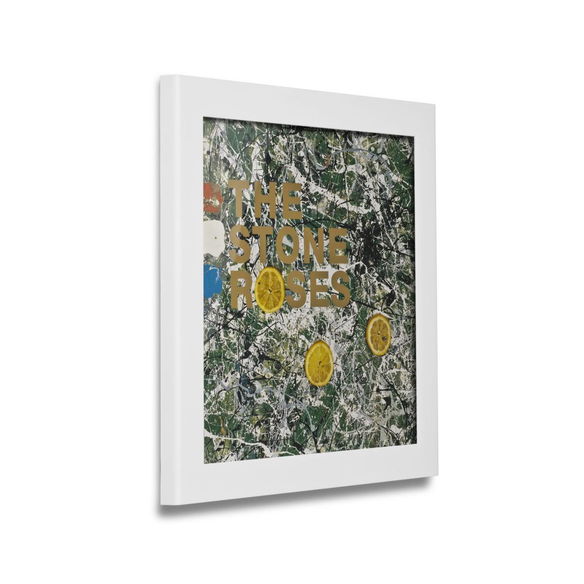 Art Vinyl Flip & Frame Bilderrahmen weiß