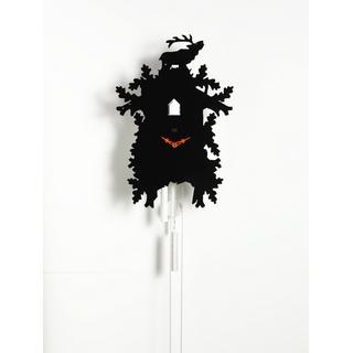Tuningkid Hirsch schwarz für Kuckucksuhr