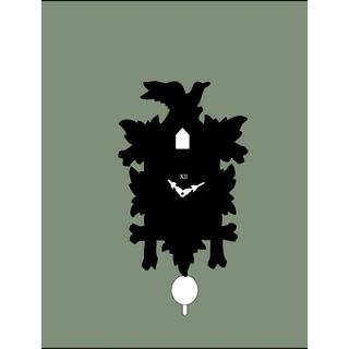 Tuningkid Kuckuck schwarz für Kuckucksuhr