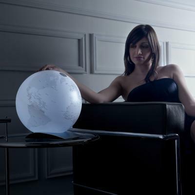 Globus Q-BALL mit LED-Beleuchtung