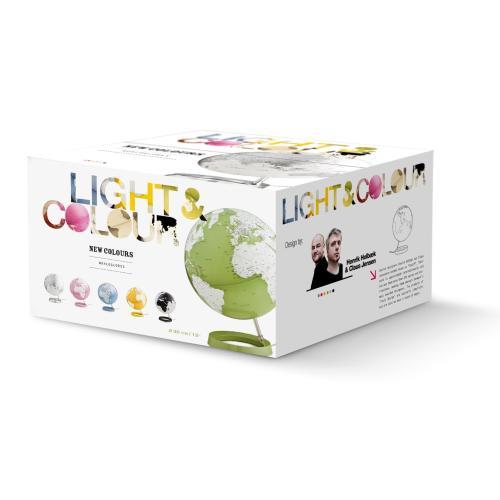 Light & Colour Leuchtglobus Pastell