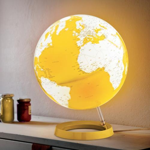 Light & Colour Leuchtglobus Pastell gelb