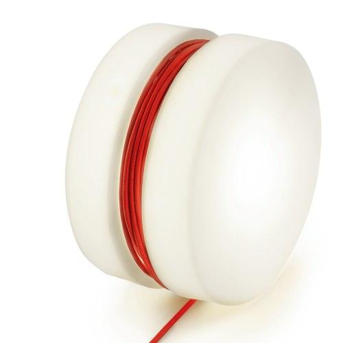 Yoyo Leuchttisch mit Beleuchtung, Kabel rot