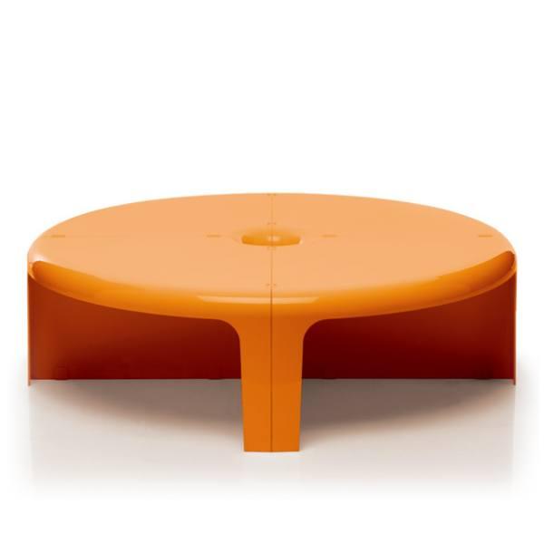 4/4 Tisch und Regal orange
