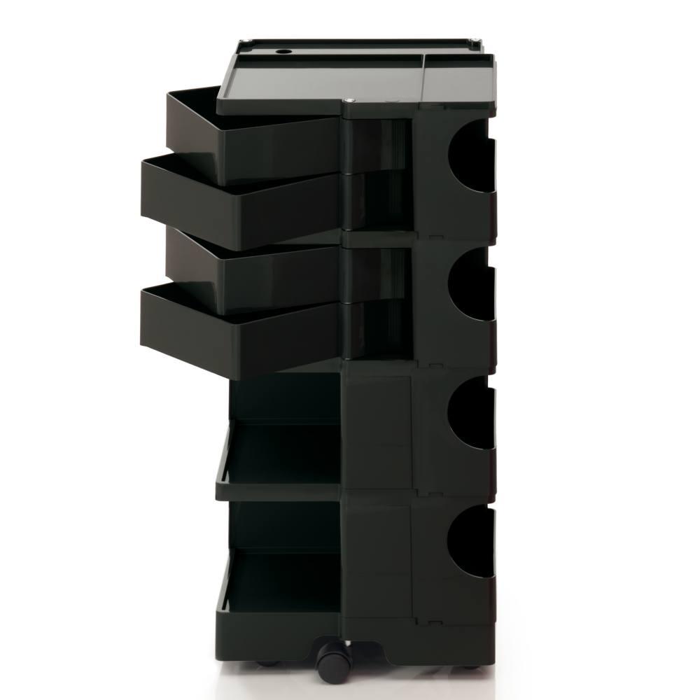 BOBY L Rollcontainer B44N, H 95 cm, schwarz