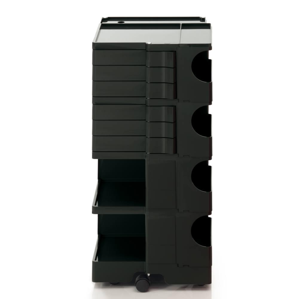 BOBY L Rollcontainer B46N, H 95 cm, schwarz