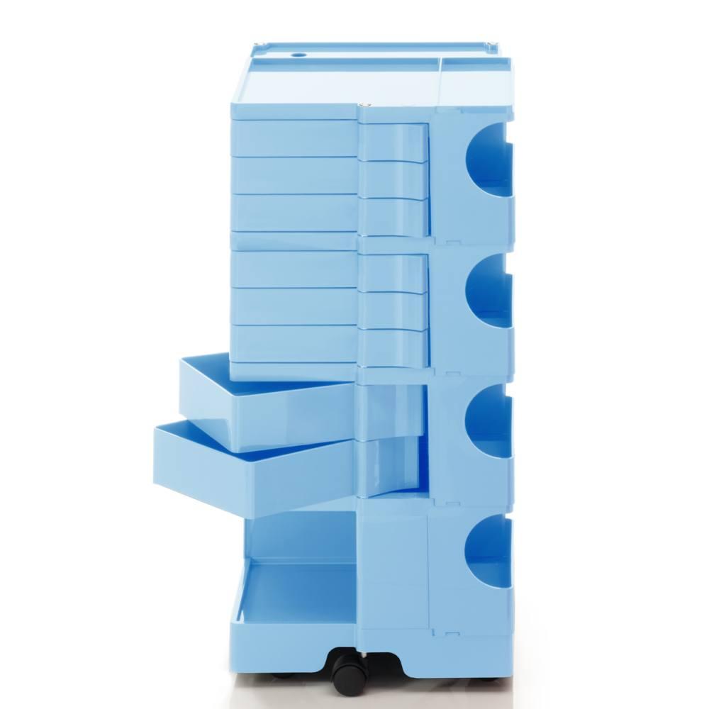 BOBY L Rollcontainer B48U, H 95 cm, bonnie blue