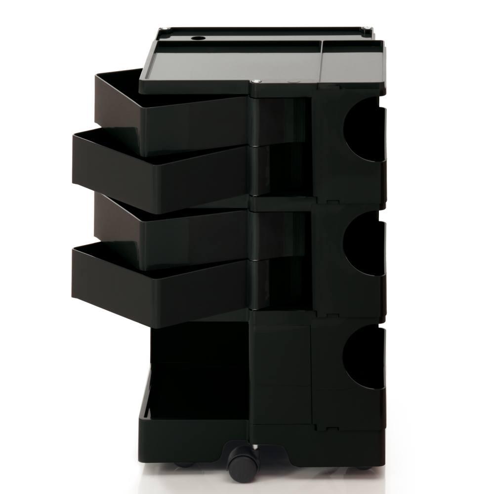 BOBY Rollcontainer B34 schwarz