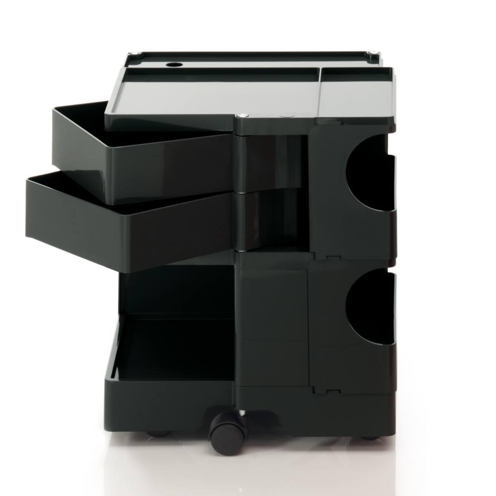 BOBY S Rollcontainer B22N, H 53 cm, schwarz