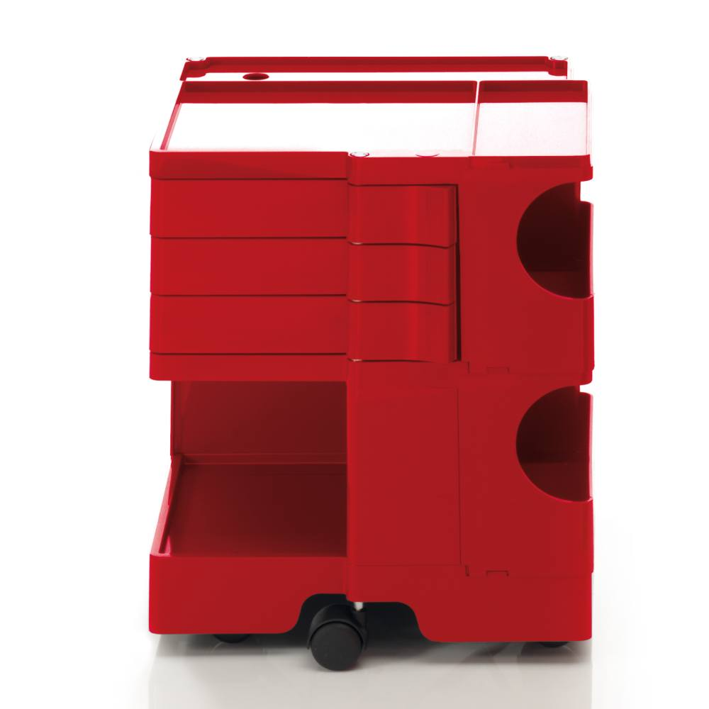 BOBY S Rollcontainer B23R, H 53 cm, rot