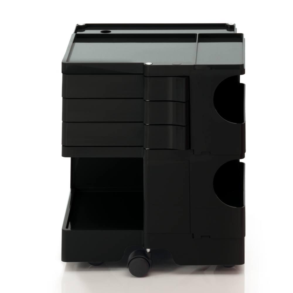 BOBY S Rollcontainer B23N, H 53 cm, schwarz