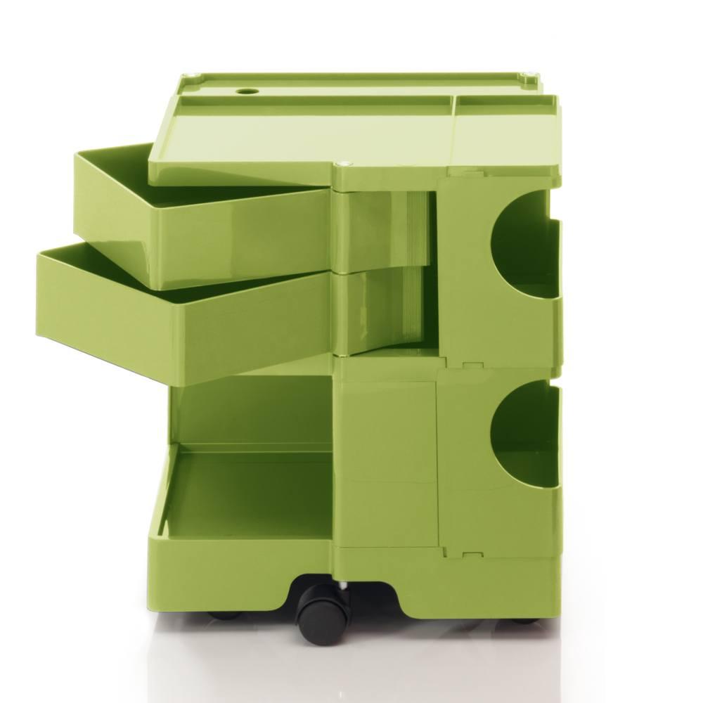 BOBY S Rollcontainer B22V, H 53 cm, limonengrün