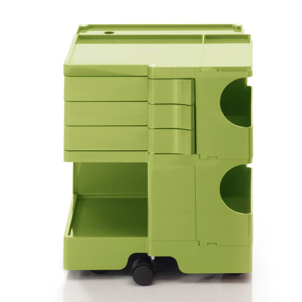 BOBY S Rollcontainer B23V, H 53 cm, limonengrün