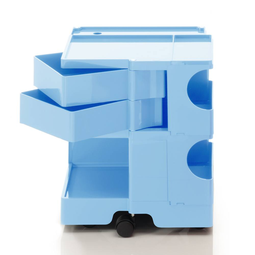 BOBY S Rollcontainer B22U, H 53 cm, bonnie blue