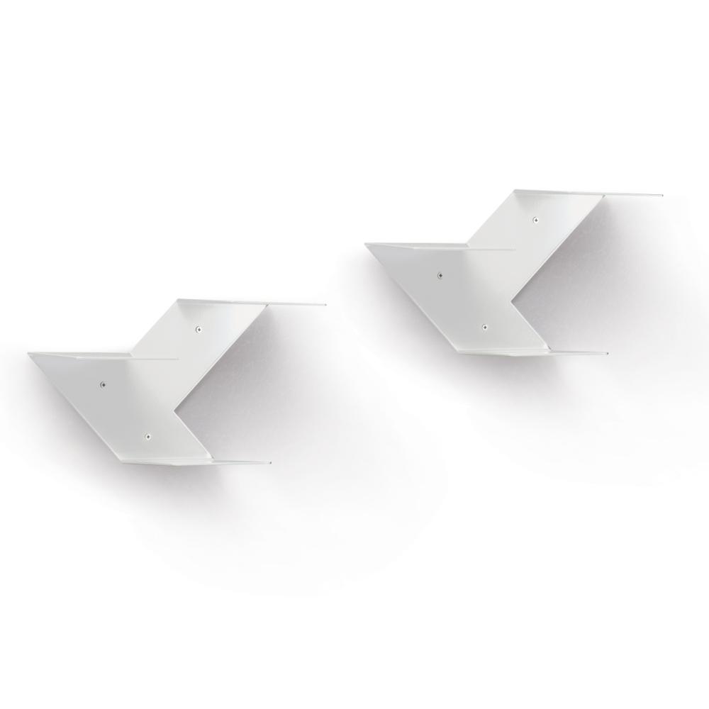FIN Regalmodul 2er-Set weiß
