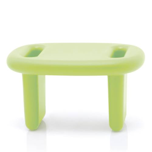 SNOOP Hocker / Beistelltisch / Regal pastelgrün