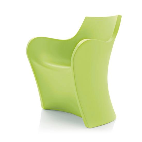 WOOPY Sessel Pastellgrün