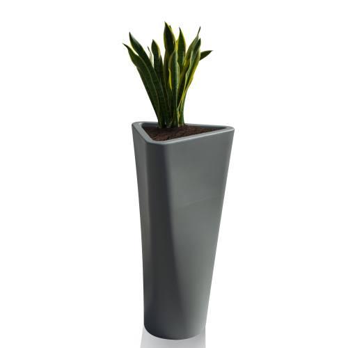 EVE Pflanzgefäß groß, basaltgrau