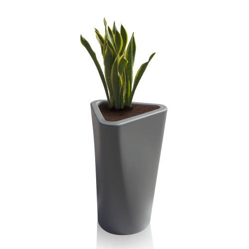 EVE Pflanzgefäß klein, basaltgrau