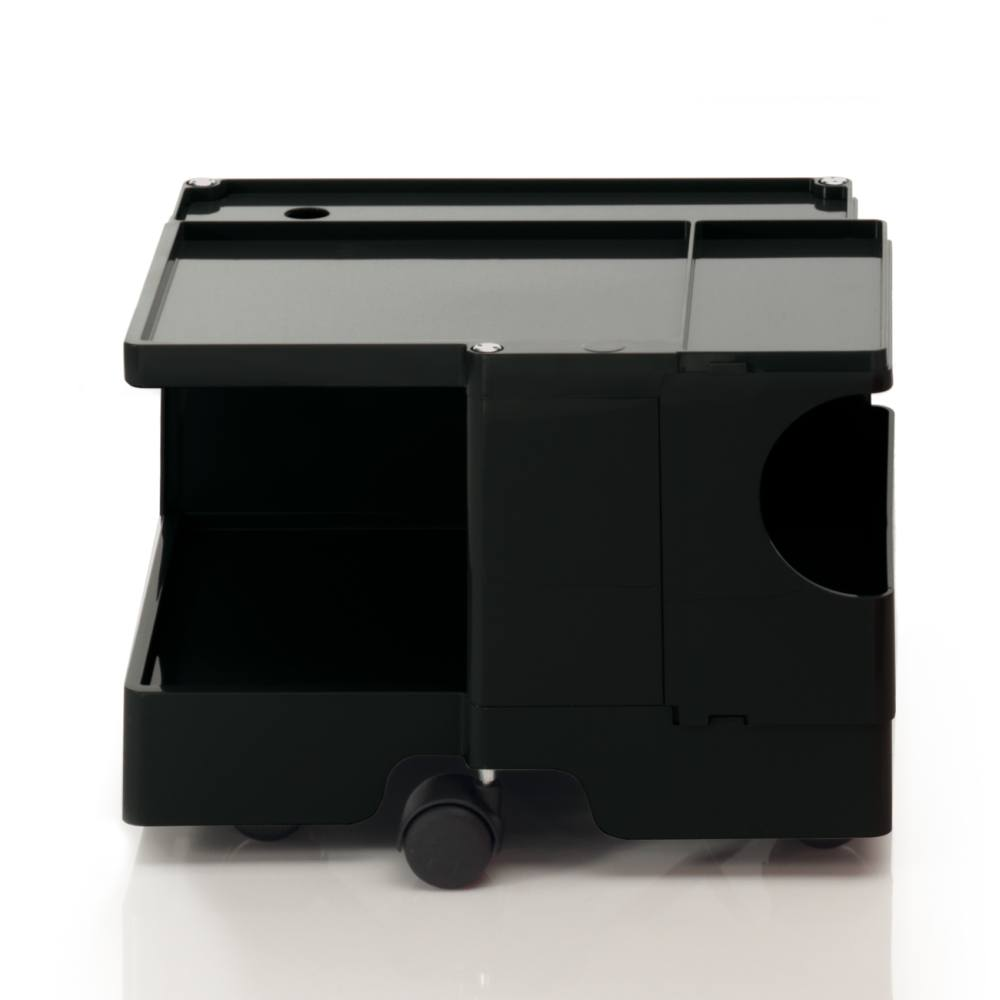 BOBY Rollcontainer Mini B10N, H31.5 cm, schwarz