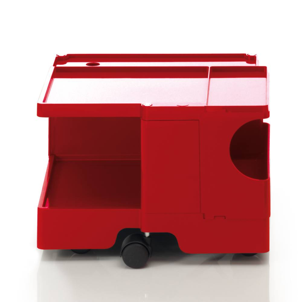 BOBY Rollcontainer B10 rot, ohne Schublade