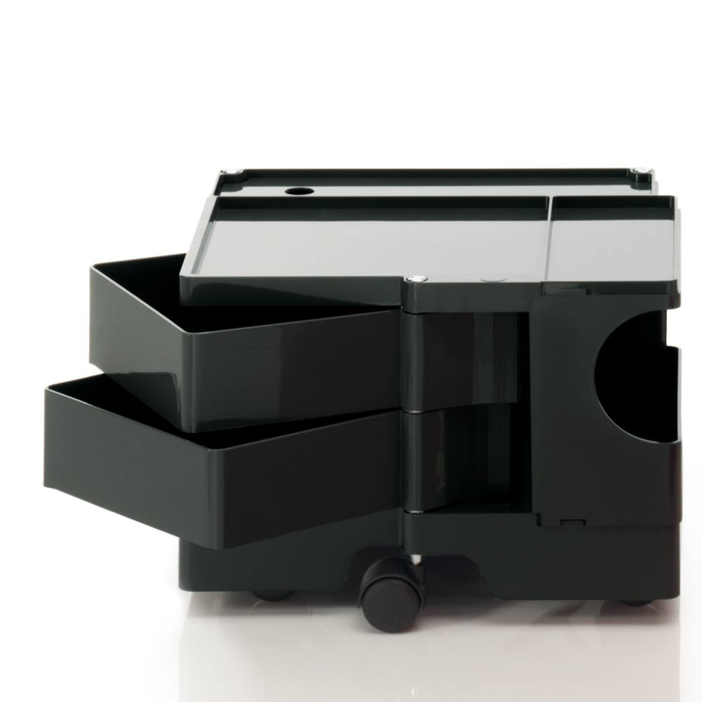 BOBY Rollcontainer Mini B12N, H31.5 cm, schwarz