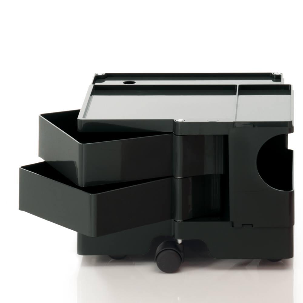 BOBY Rollcontainer B12 Mini schwarz