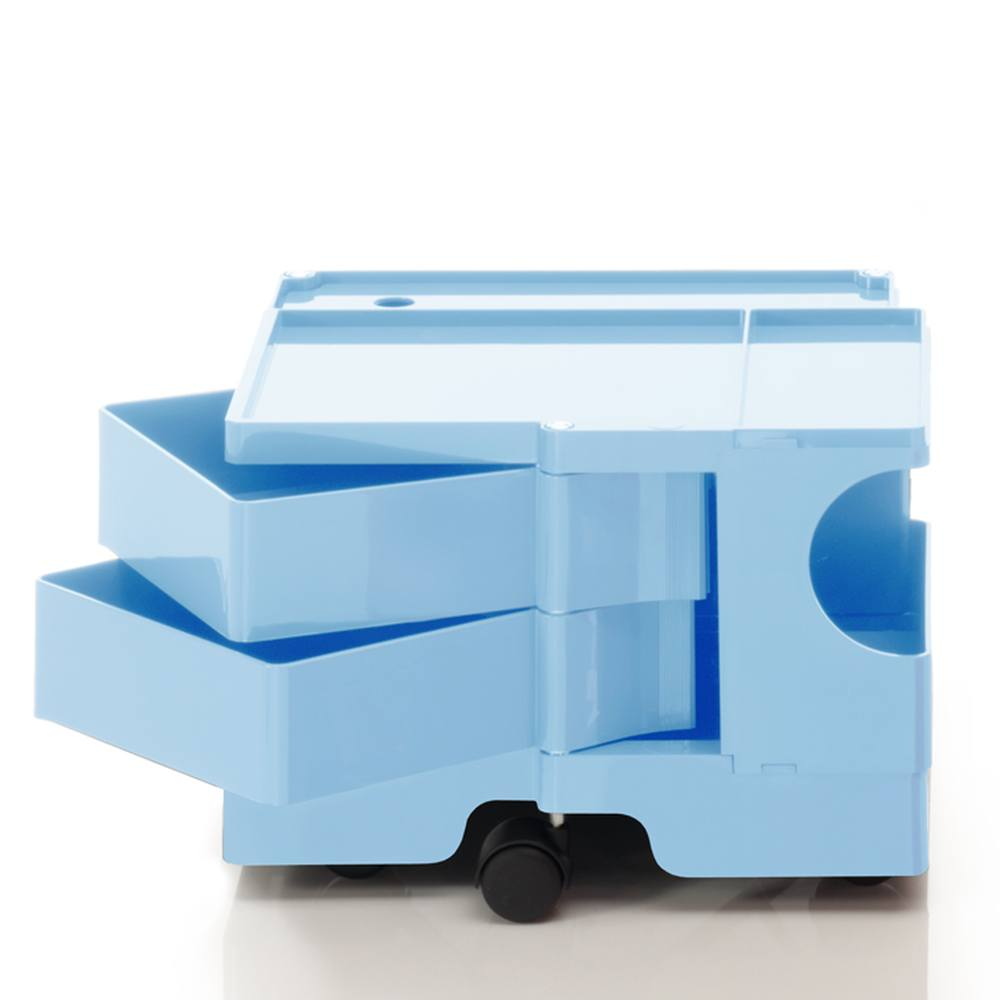 BOBY Rollcontainer Mini B12U, H31.5 cm, bonnie blue