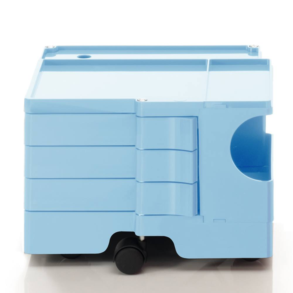BOBY Rollcontainer Mini B13U, H31.5 cm, bonnie blue