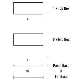 BRIX Schubladenkonsole S2 Modularsystem