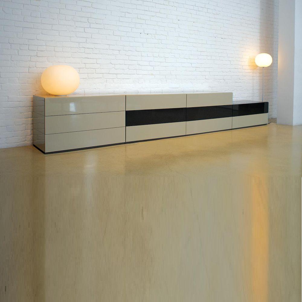 BRIX Sideboard BxHxT 400 x 62 x 50 cm, mit Schubladen, Farbzusammenstellung nach Wahl