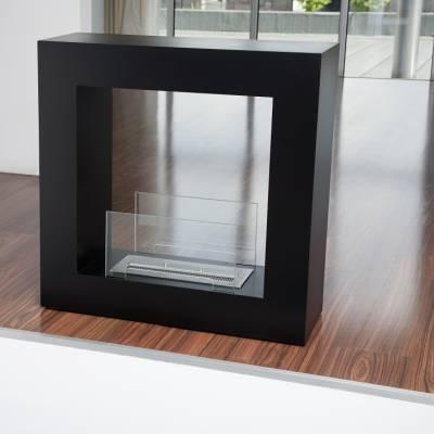 qube standkamin biokamin von bio blaze von. Black Bedroom Furniture Sets. Home Design Ideas