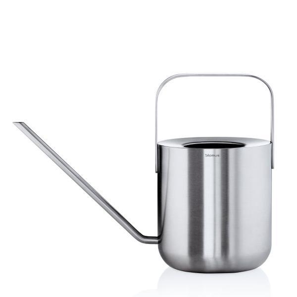 PLANTO Gießkanne 1.0 Liter, Edelstahl matt