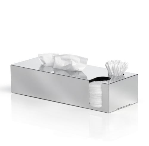 Nexio Kosmetikbox Edelstahl poliert