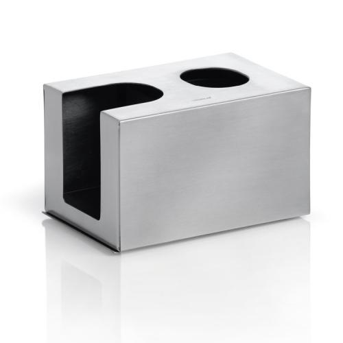 NEXIO Hygienebox Edelstahl matt