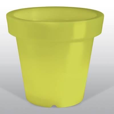 Bloom POT 40 beleuchteter Blumentopf limonengrün
