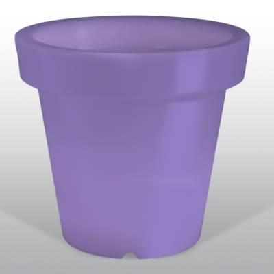 Bloom POT 40 beleuchteter Blumentopf violett