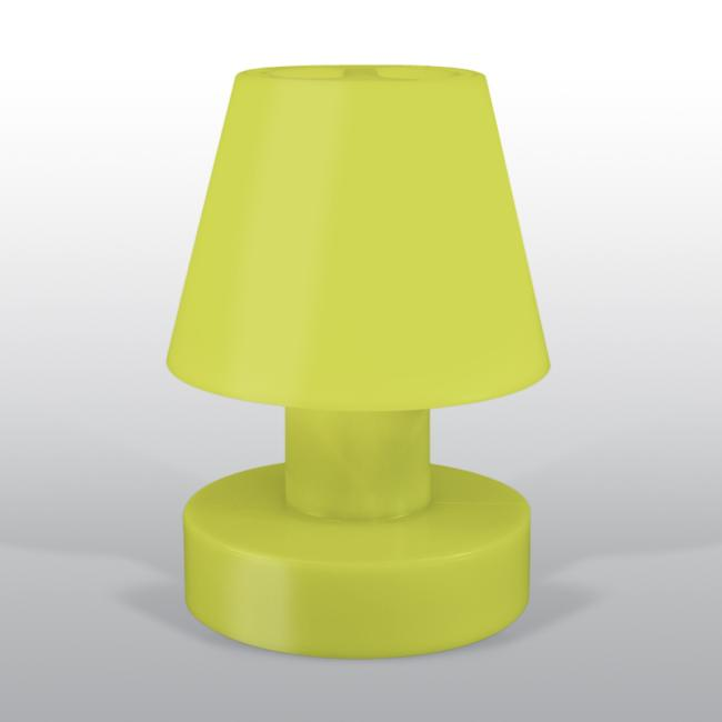 BLOOM Portable Lamp 56 mit Kabel hellgrün / limone