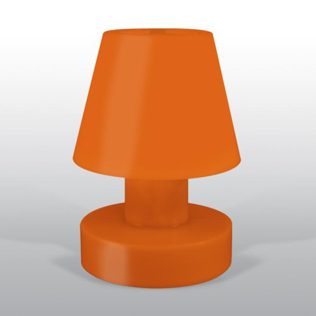 BLOOM Portable Lamp 56 mit Kabel orange