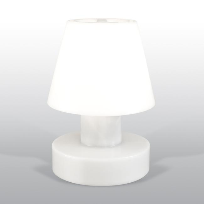 BLOOM Portable Lamp 56 mit Kabel, weiß