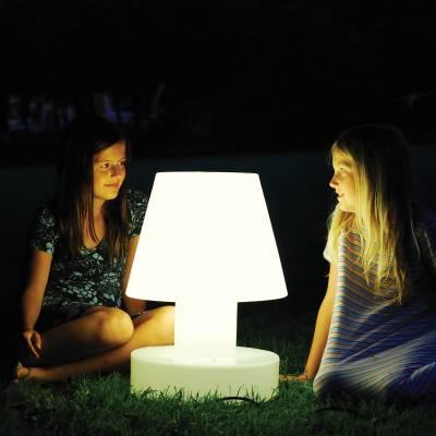 Bloom! Portable Lamp - zur Plauderstunde