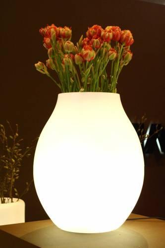 BULB beleuchtete Vase
