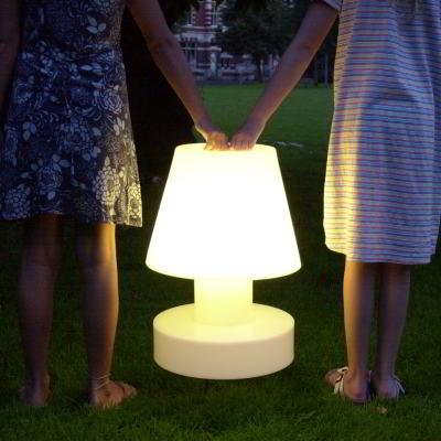 Bloom! Portable Lamp mit Batterie