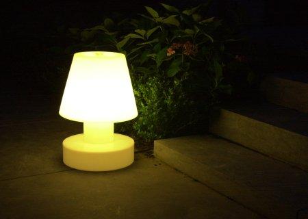 Bloom! Portable Lamp mit Batterie - Licht überall