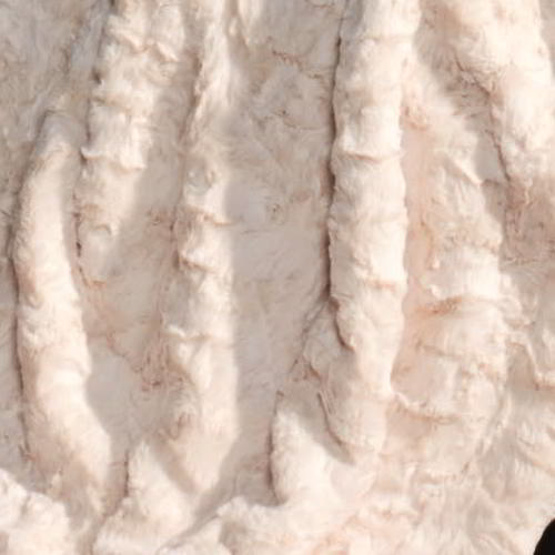 CARMA Bodenkissen Lamm ivory 70x70 cm