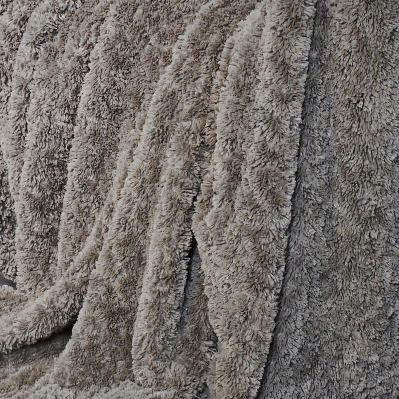 CARMA Bodenkissen Merino schlamm 70x70 cm