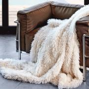 CARMA Plaid Tibetlamm ivory